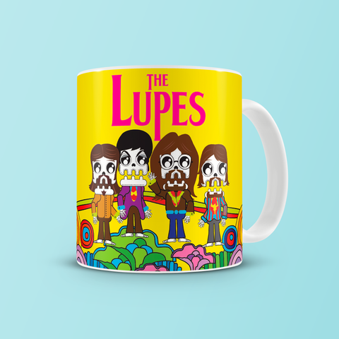 Taza Lupe® The Lupes Yellow Submarine