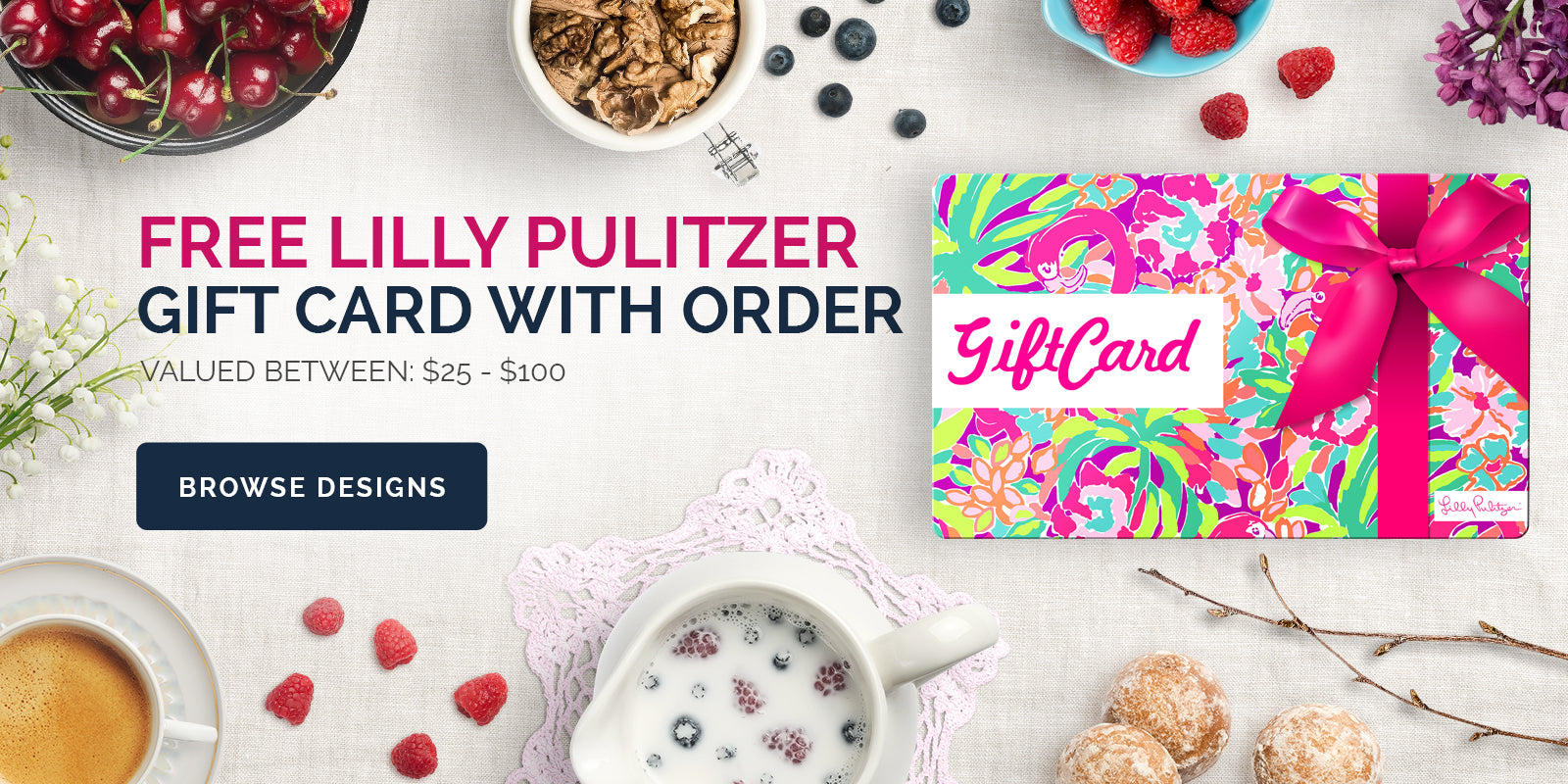 Free Lilly Pulitzer Gift Card