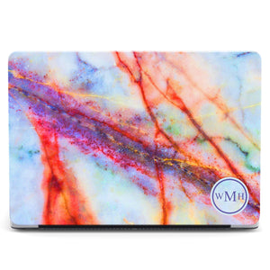Marble Monogram MacBook Case 21
