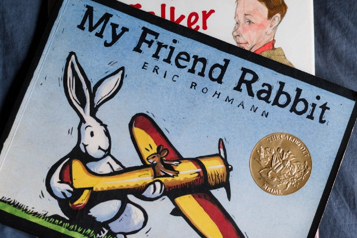 My Friend Rabbit — one of our favorites