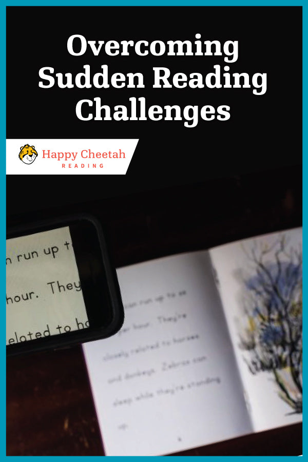 How to Overcome Sudden Reading Challenges