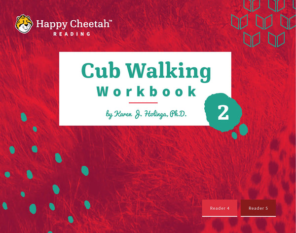 Cub Walking Workbook: Level 2