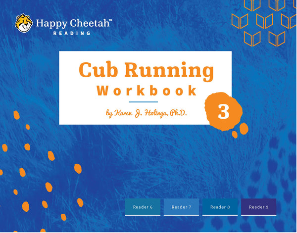 Cub Running Workbook: Level 3