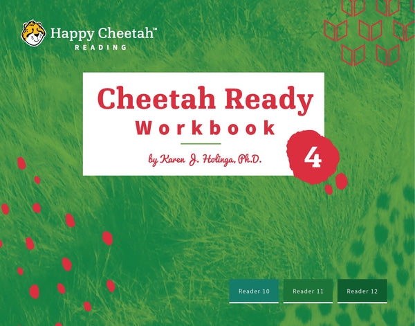 Cheetah Ready Workbook: Level 4