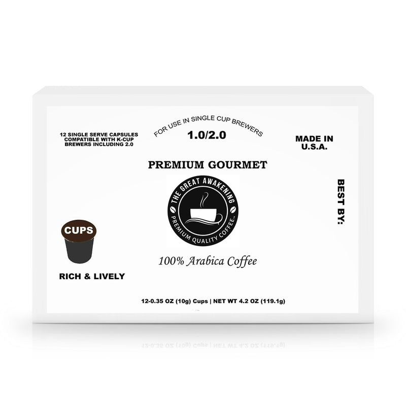 12 Pack Single Serve Coffee Cups