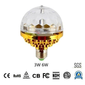 【50%off only today】Disco Ball Lamp RGB Rotating LED Party Bulb
