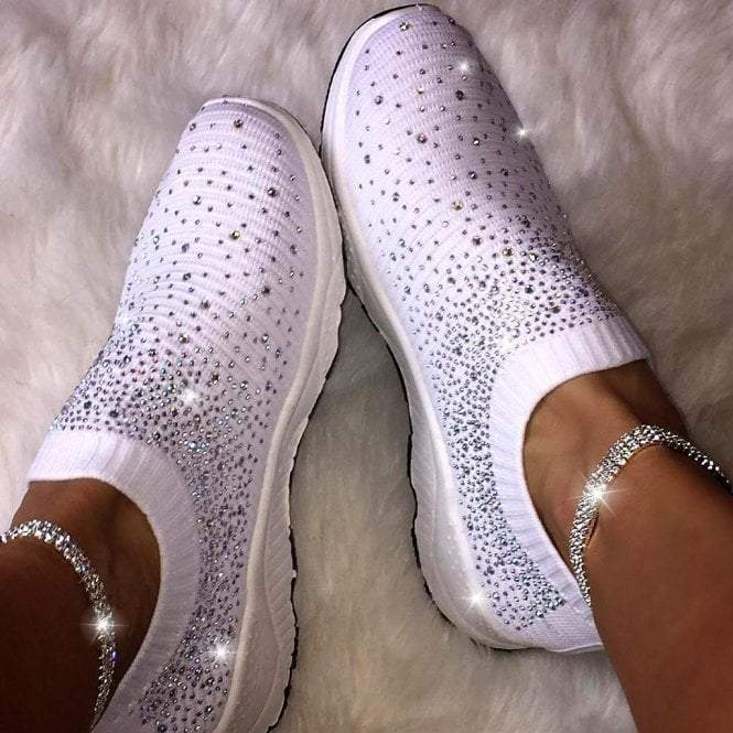 Crystal Sizzle Sock Sneakers