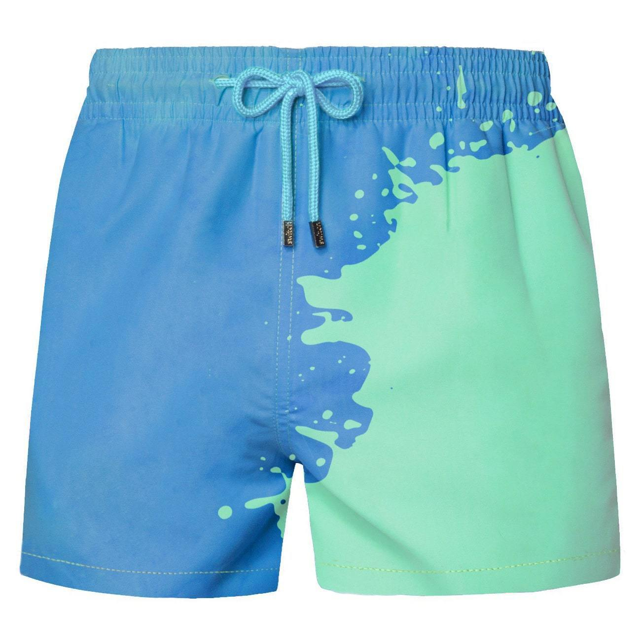 $25.99 Today Only The Top 100 Customers 🔥 HYPER SWITCHS COLOR CHANGING SWIM TRUNKS
