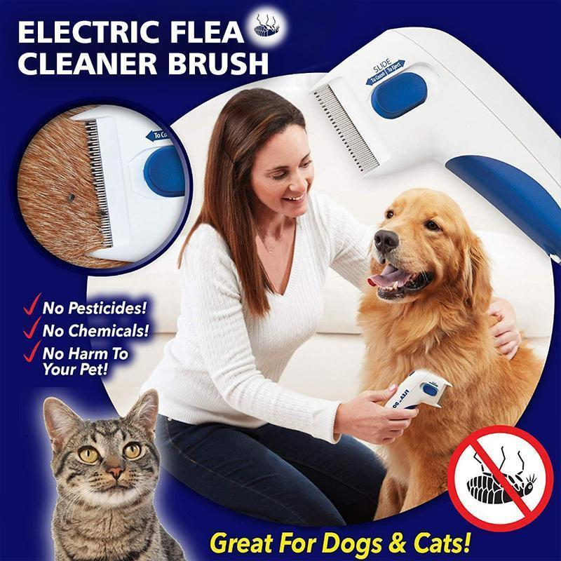 👍Save 50%👍Electric Flea Cleaner Brush