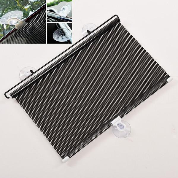 Car Window Sunshade Retractable Foldable Windshield Sunshade Cover Curtain