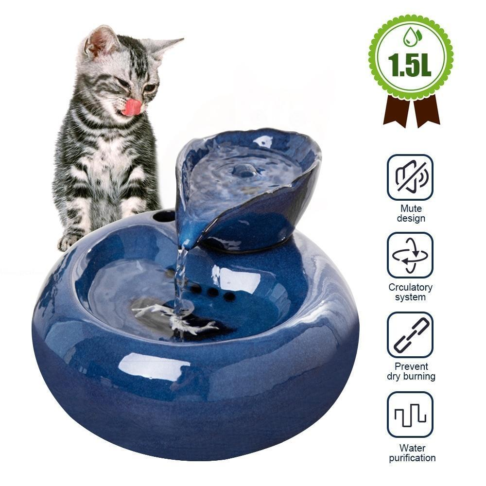 Pet  Automatic Circulation Water Dispenser (50% OFF)