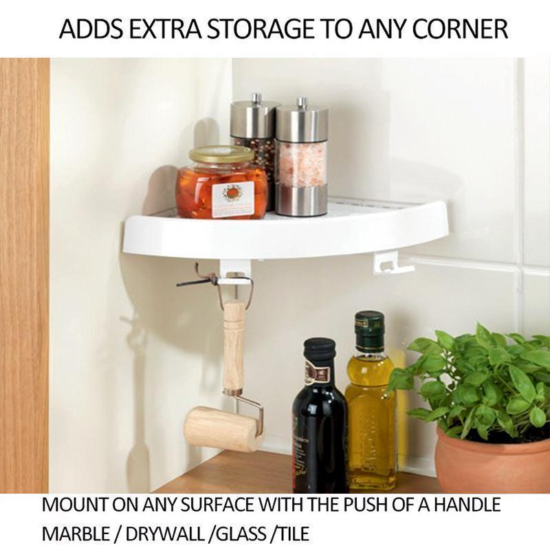 🔥50% OFF🔥Premium Corner storage holder shelves