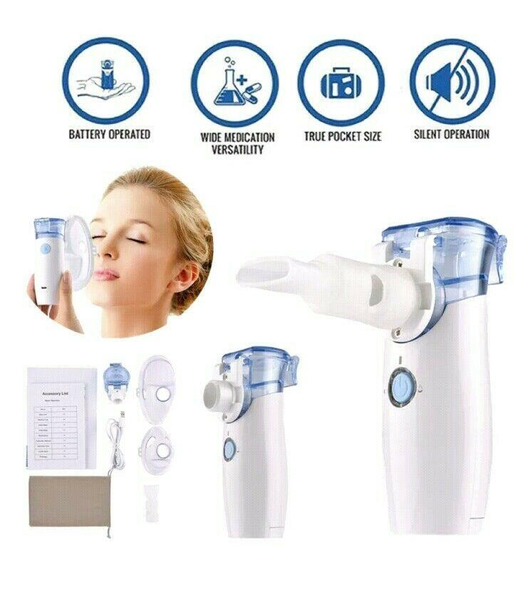 MicroAir™ Portable Inhaler Nebulizer(stop automatically with liquid)
