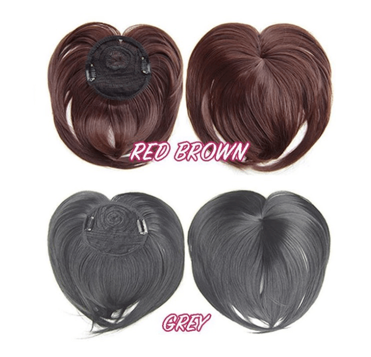 💇‍♀ Silky Clip-On Hair Topper