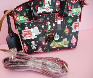 Disney Parks Holiday Annual Passholder Satchel by Dooney & Bourke