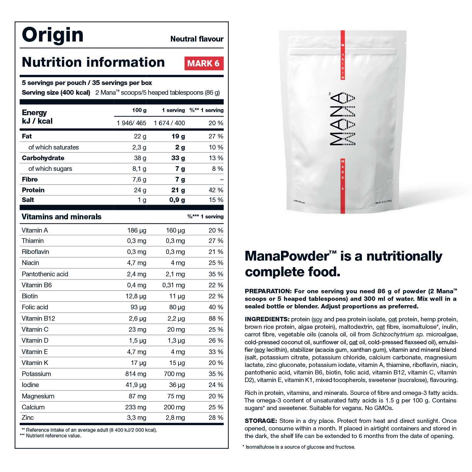 ManaPowder™ | Origin