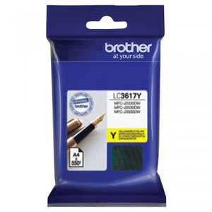 Brother LC-3617 Yellow Ink Cartridge