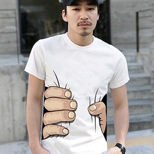 Squeezed Look T-Shirt