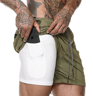 Double-Deck Gym Shorts