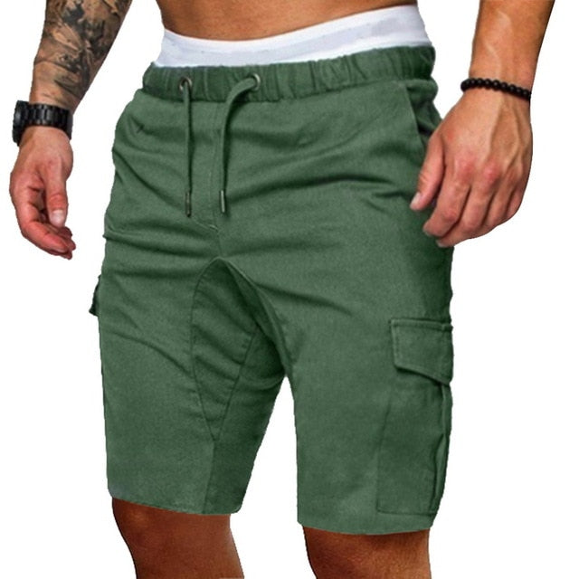 Slim Casual Cargo Shorts