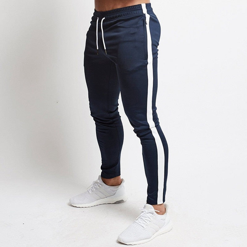 Striped Jogger Style Sweatpants
