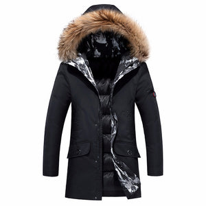 Winter Fur Long Coat