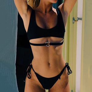 Thin Laced 2 Piece Bikini