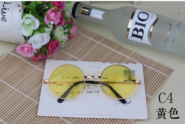 Multi-Color Round Sunglasses