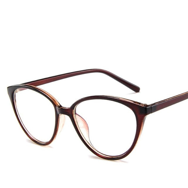 Tiger Eye Clear Glasses