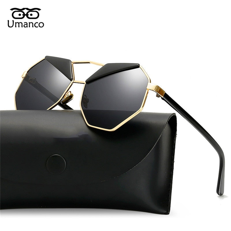 Umanco Vintage Metal Sun Glasses