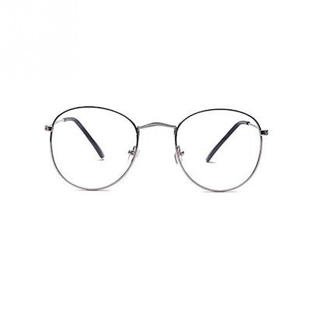 Classic Gold Clear Glasses