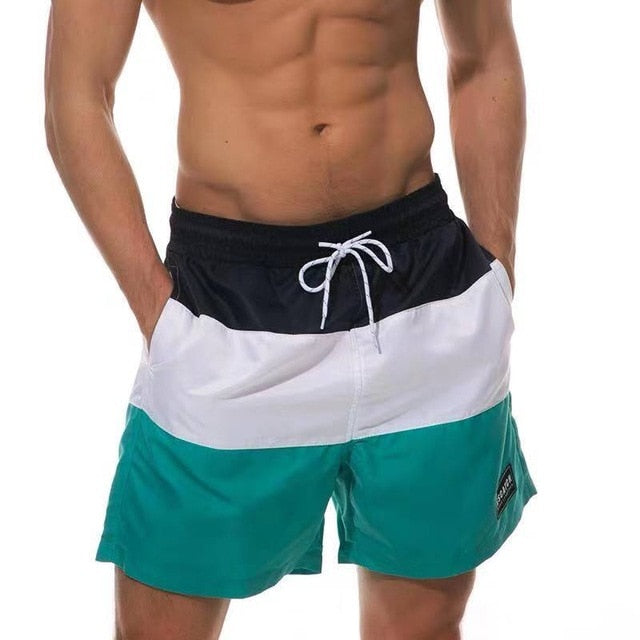 Layered Swim Shorts