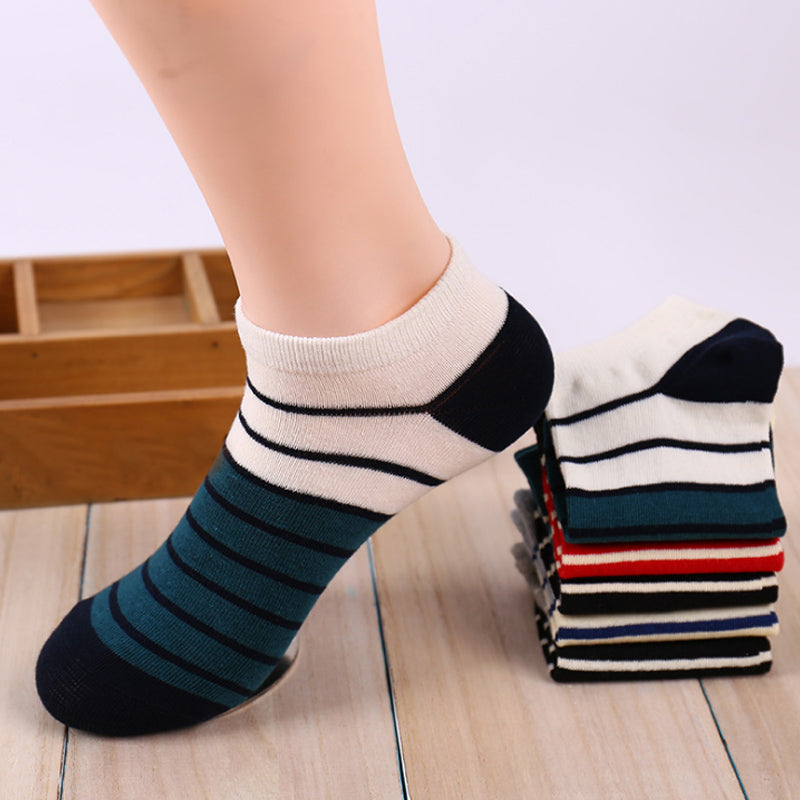 Striped Ankle Socks
