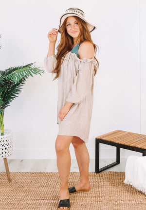Mae Coverup in Tan