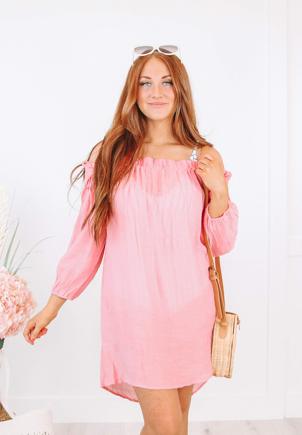 Mae Coverup in Pink