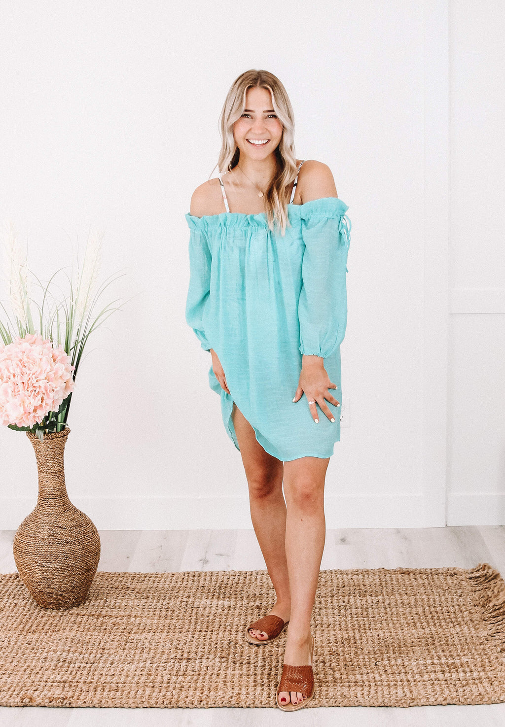 Mae Coverup in Light Blue