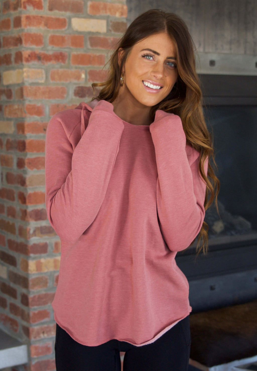 Soft Hooded Sweatshirt
