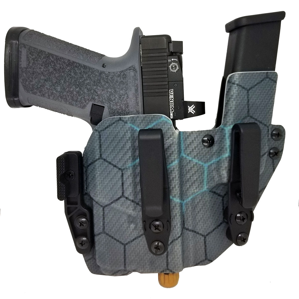 Polymer80 PF940C with Inforce APLc AIWB & Mag Holster