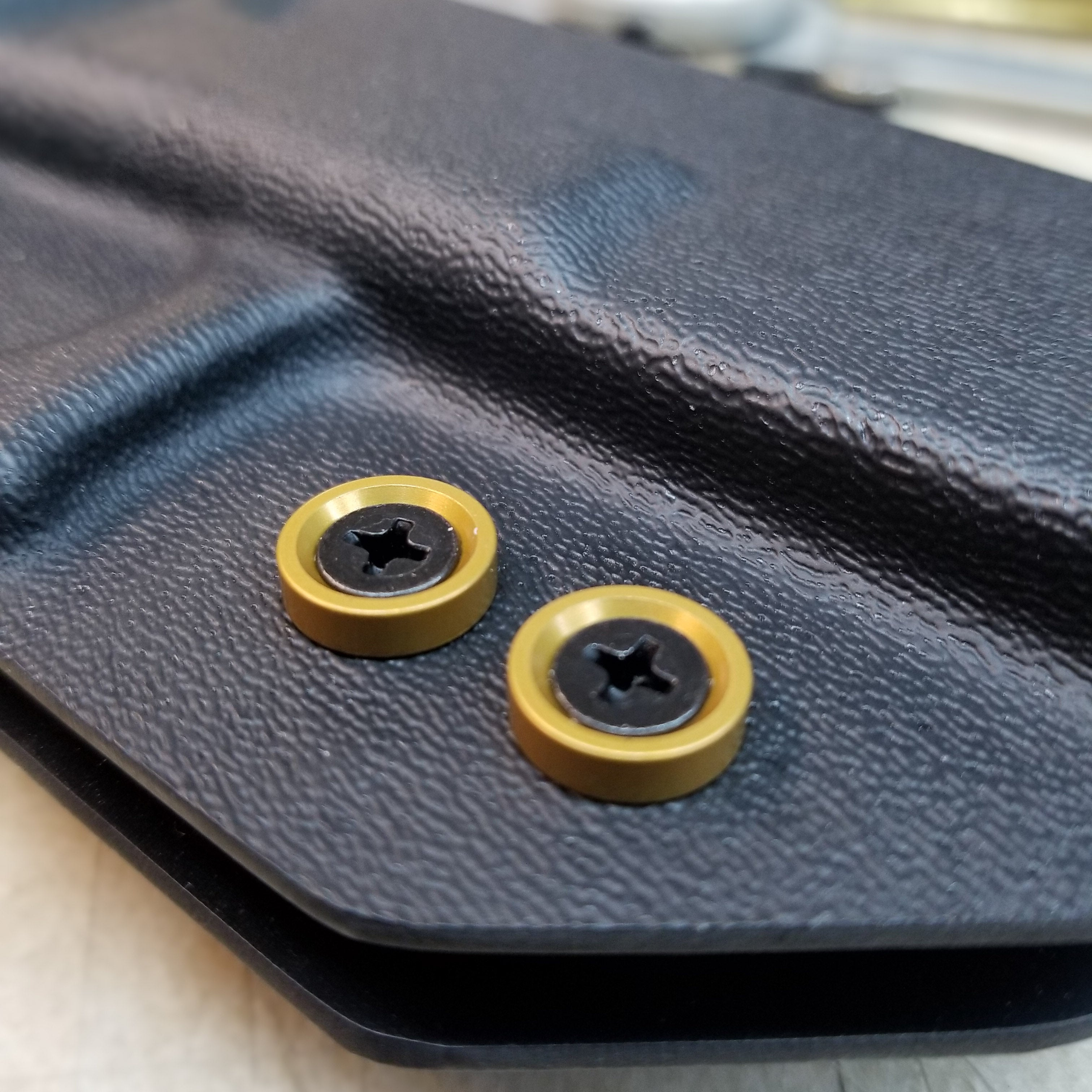 Gold Anodized #8 Finish Washer