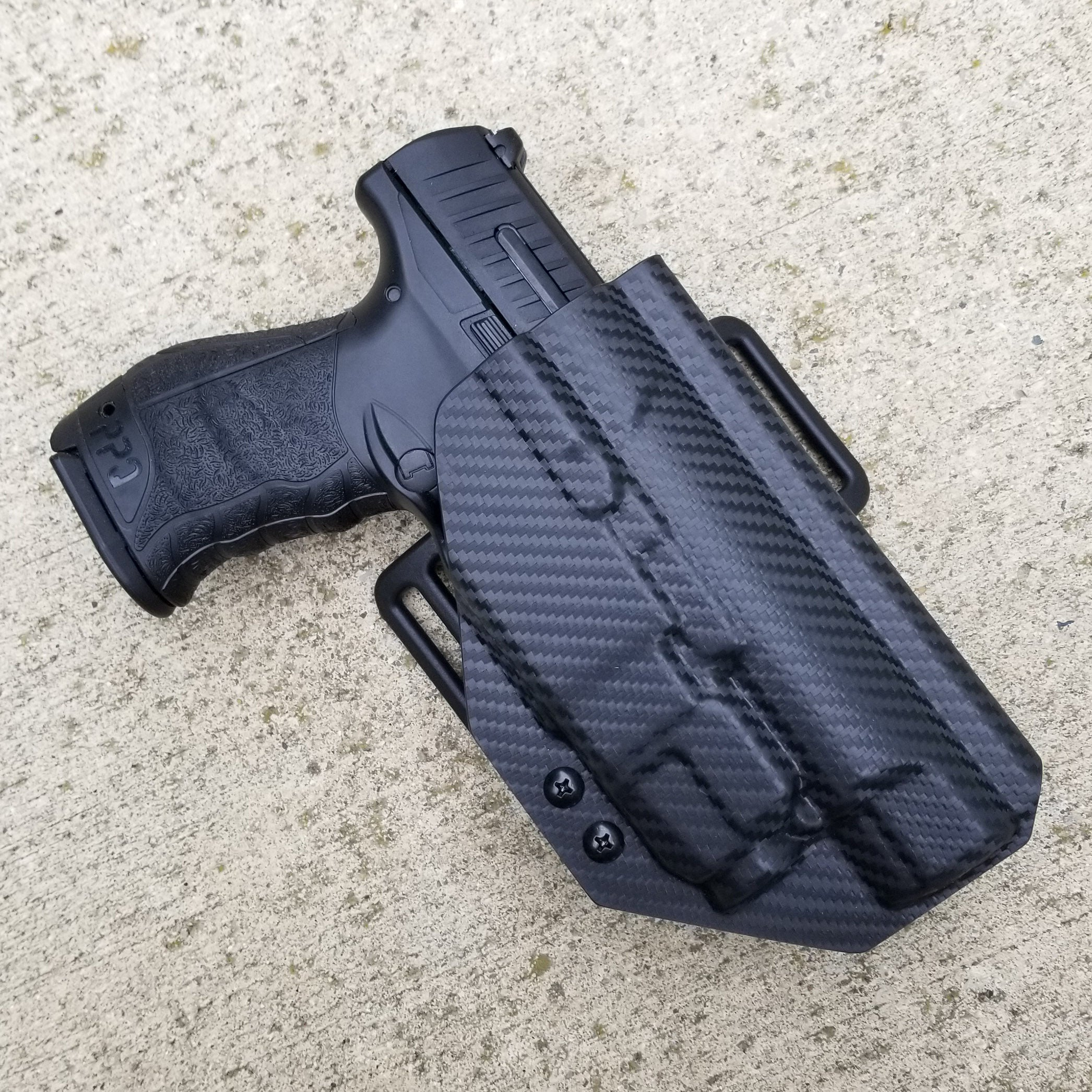 "Walther PPQ M2 4"" with TLR-7 OWB Holster"