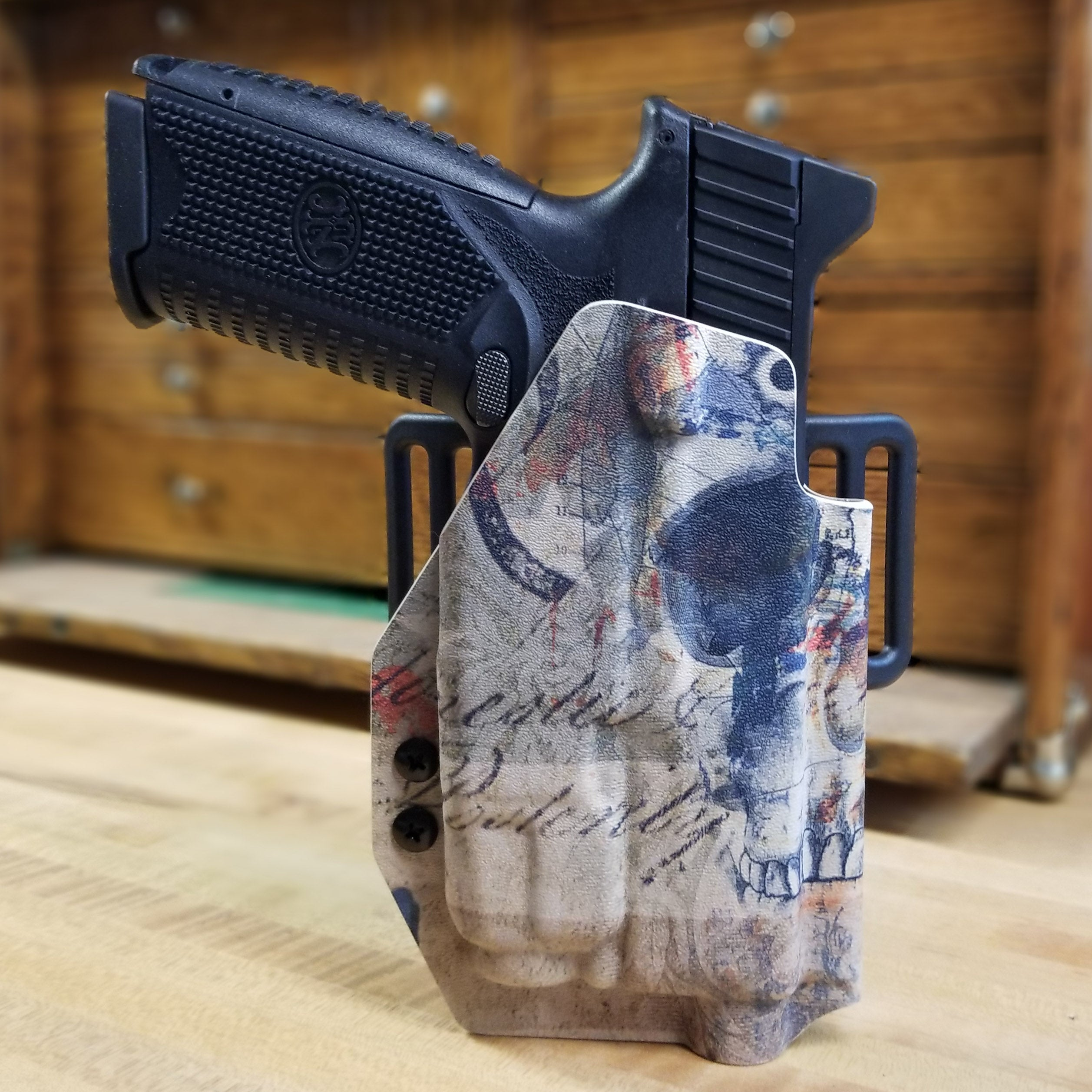 FN 509 Tactical with TLR-7 OWB Holster
