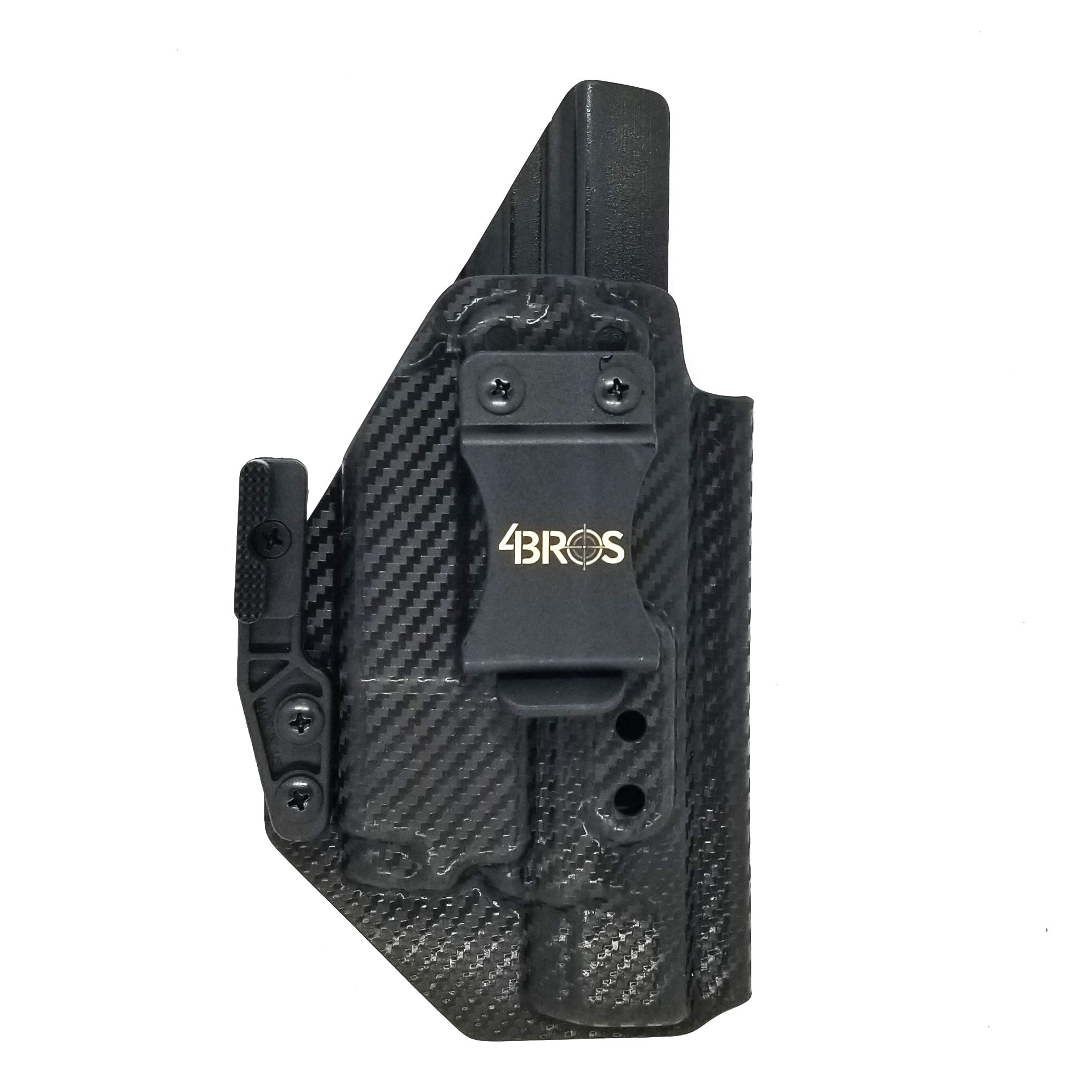 Walther PPQ Q4 Tac M2 with Baldr Mini IWB Holster
