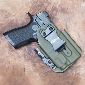 "AIWB ""Outbreak "" Holster  Sig P320 Compact Or Carry With Tlr-7//Tlr7a High Or Low"