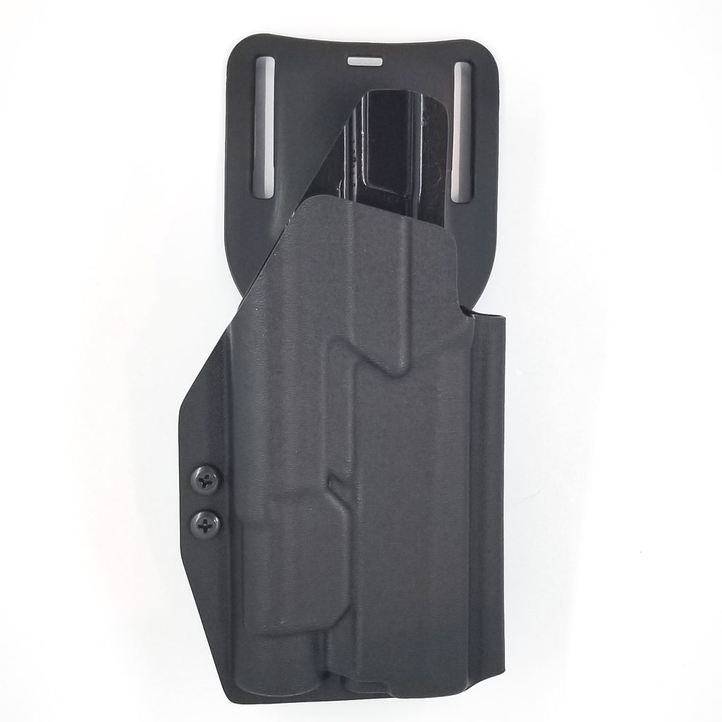 Sig Sauer P320 with TLR-1 Gas Pedal Competition Holster