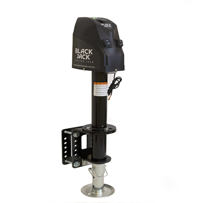 SavvyLevel also offers: Black Jack™ Trailer Jack. Electric Powered Jack. Combines perfectly with SavvyLevel or buy seperately