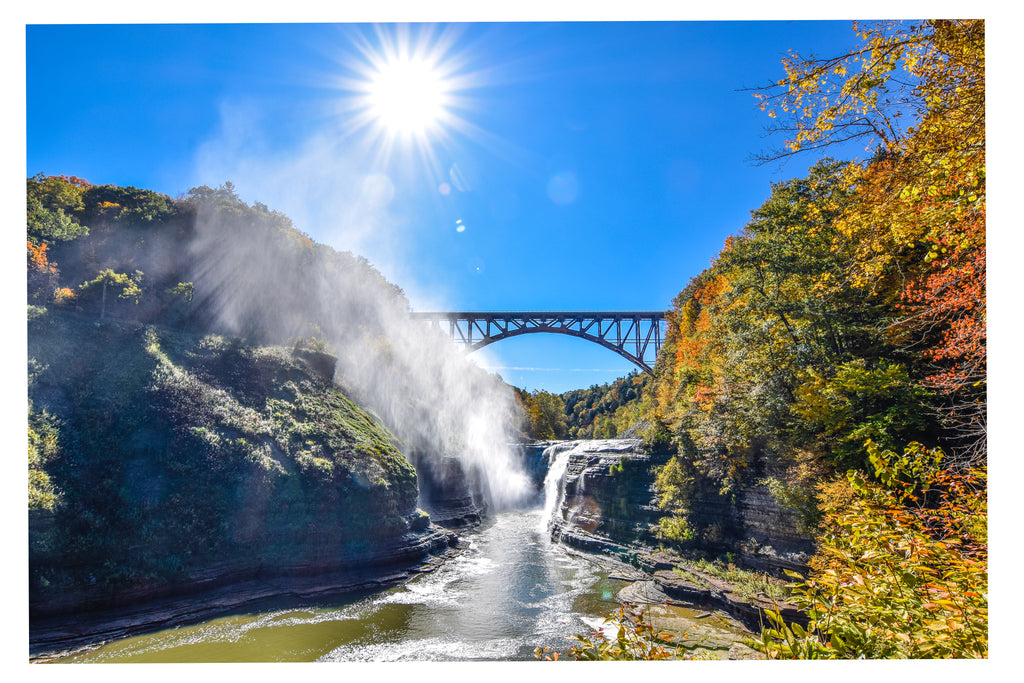 Letchworth State Park Bridge