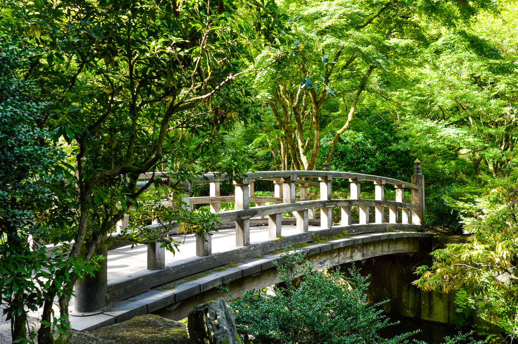 Bridge to anywhere within Portland's Japanese Gardens