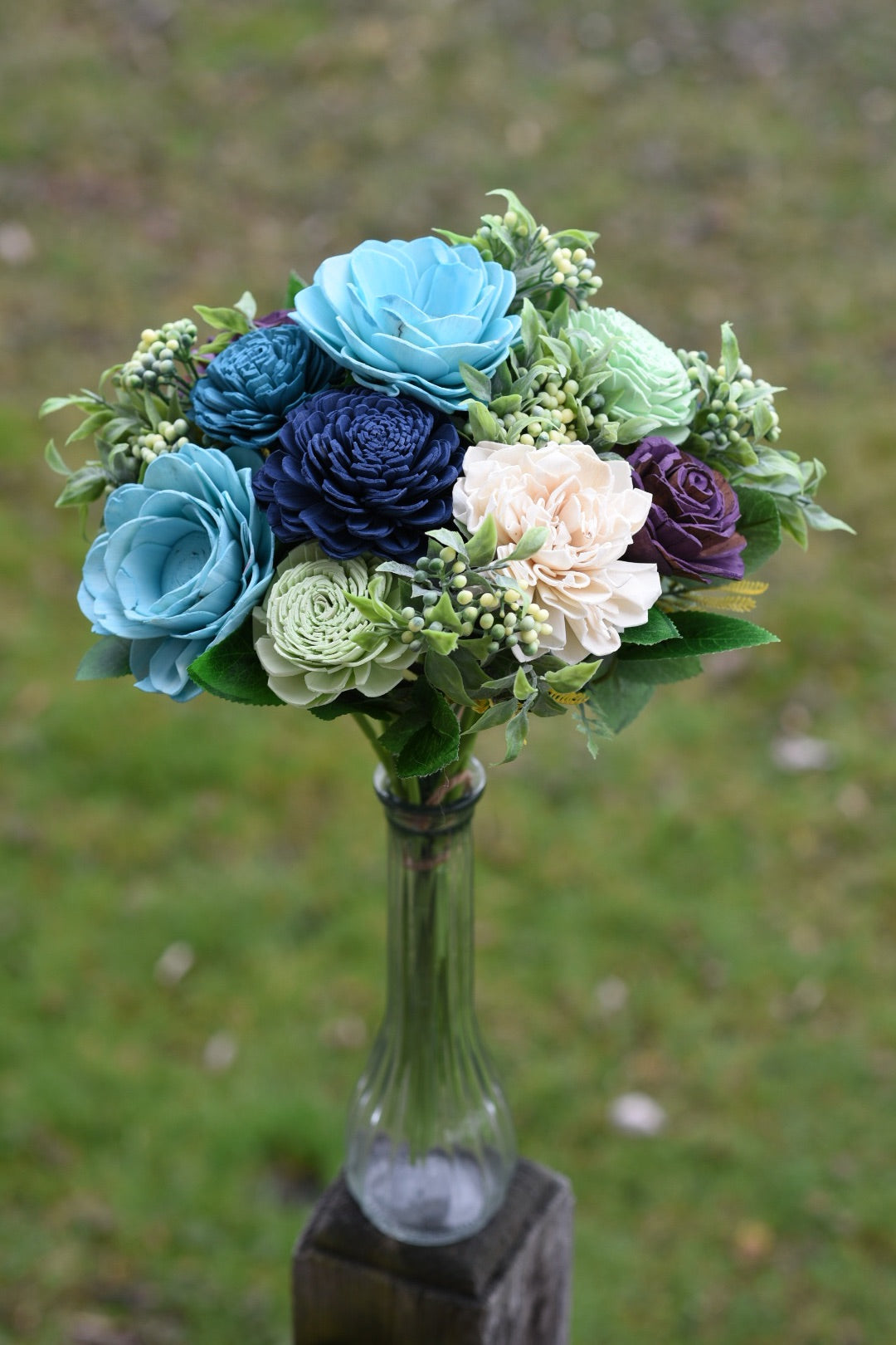 The Blues Bouquet