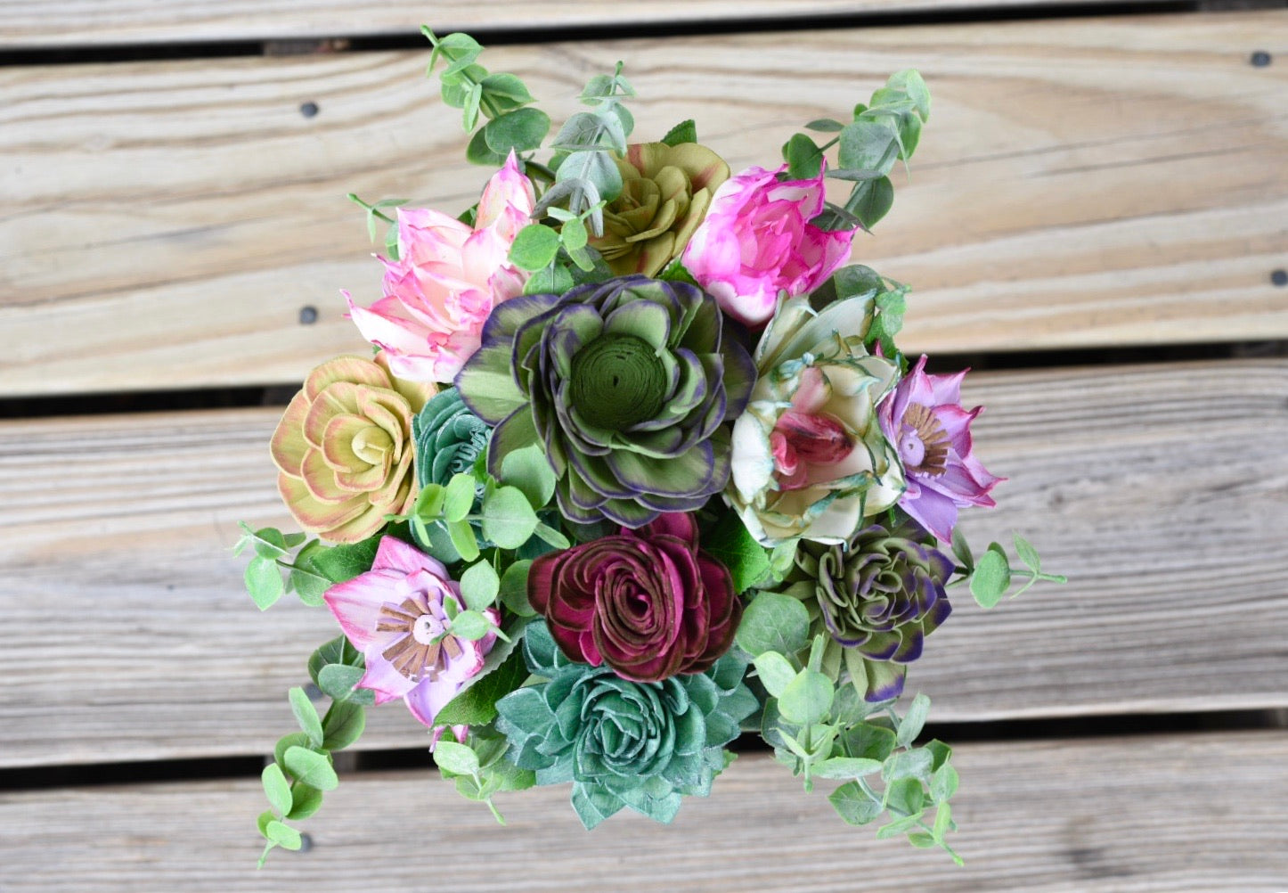"""Super Succulent"" Bouquet"