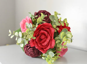 Rose Red and Pink Bouquet